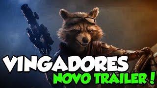 INCRÍVEL !! NOVO TRAILER DE VINGADORES: ULTIMATO !!