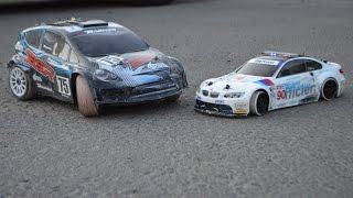 Радиоуправляемые модели Basher BSR 4WD Rally Car и HPI Sprint