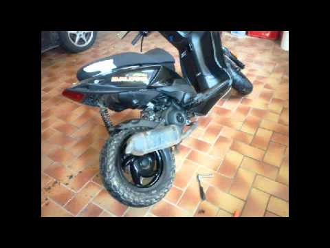 piaggio tph x50 tuning story 1 youtube. Black Bedroom Furniture Sets. Home Design Ideas