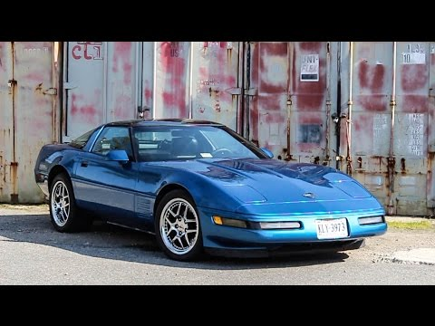 Sports Car Of It's Time? 1991 Corvette Review!