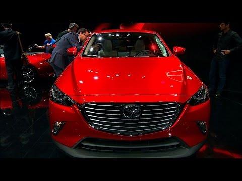 Car Tech - 2014 LA Auto Show: 2015 Mazda CX-3
