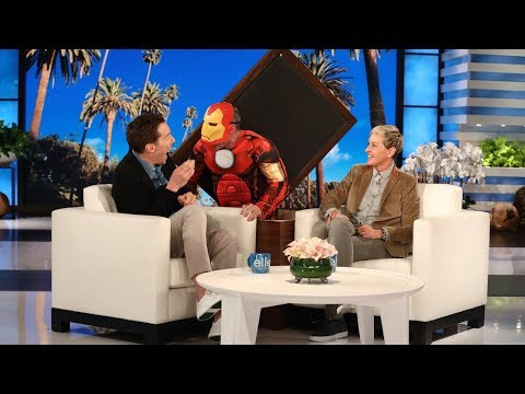 Benedict Cumberbatch Gets a Scare from 'Iron Man' en streaming