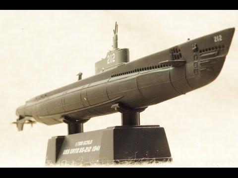 1/700 ウォーターライン ガトー級/13号駆潜艇セット