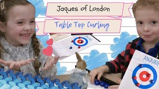 Unboxing the Jaques of London Table Top Curling!! It's a TIE for Evie and Otto