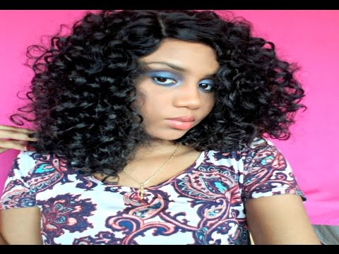 $20 Bomb Curly Hair l Outre Synthetic Quick Weave Complete Cap Wig JoJo Review l NewYorkHairmall