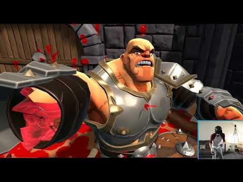 THE GEORDIE KISS!!! - Gorn VR Gameplay