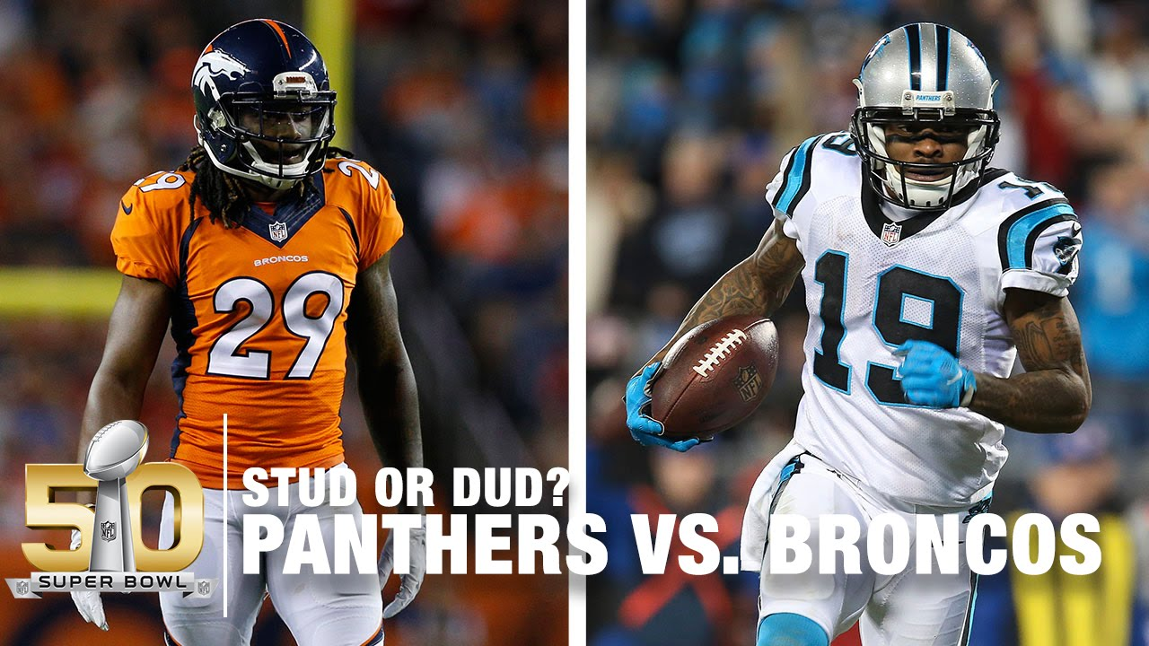 Who Will Be The Super Bowl 50 Stud & Dud? | Panthers vs. Broncos | NFL Now
