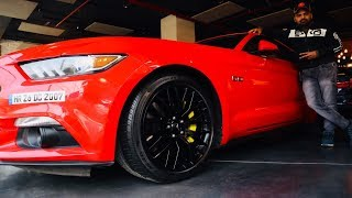 Loudest Mustang GT In India For Sale | Service Cost ₹14,000 Only 😱 | ABE