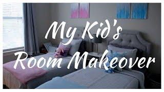 MY KID'S ROOM MAKEOVER BOY / GIRL SHARED ROOM