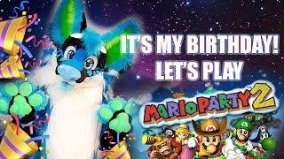 IT'S MY BIRTHDAY!!! LET'S PLAY MARIO PARTY 2