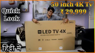 Xiaomi Mi TV 4X, 50 inch 4K HDR TV in ₹ 29,999 | Quick Review