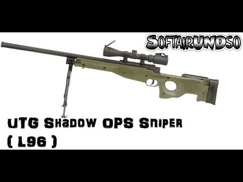 *UPGRADE* UTG Shadow Ops Sniper (L96) Review GERMAN