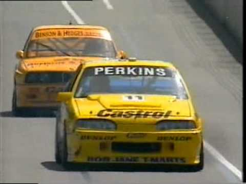 Group A Touring Cars from the 1992 Australian F1 Grand Prix meeting in Adelaide, Australia. Commentary from Darrell Eastlake and Mark Skaife.