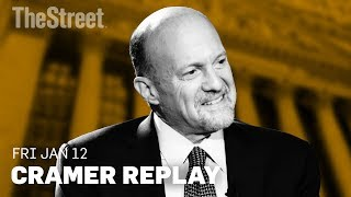 Jim Cramer on IBM's CFO Change, Kohl's Upgrade, & IBM's CFO Change