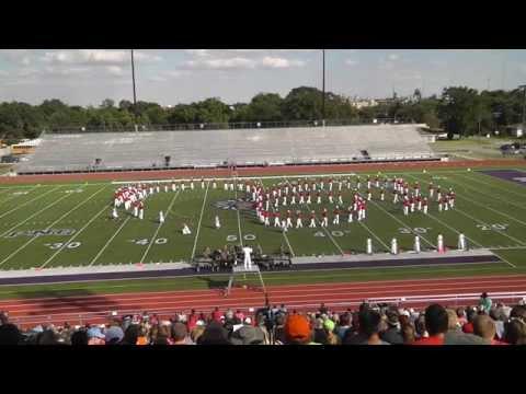 Bridge City High School Band 2014 - UIL Region 10 Marching Contest