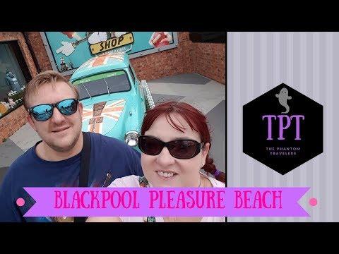 Blackpool Pleasure Beach Vlog 2017