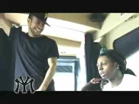 Lil Wayne and Young Money Laugh At Chuck D While On The Bus