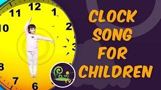 Clock Song | Clock Song for Children | Kids Learning Videos - Pari TV | 4K Video