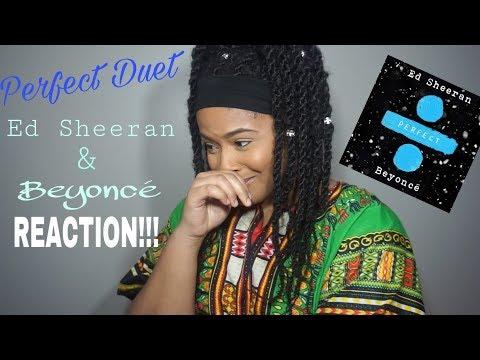 Cover Lagu Ed Sheeran Perfect Duet (with Beyoncé) - REACTION!!!