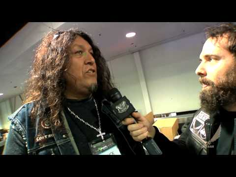 Dean Guitars 2014 N.A.M.M. - Chuck Billy of Testament