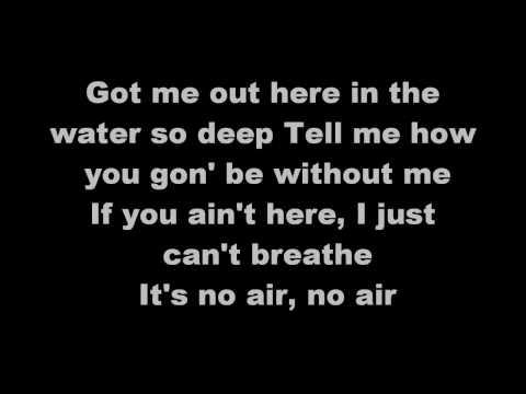 Jordin Sparks  - No Air [Lyrics]