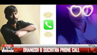 DHANUSH | SUCHITRA PHONE CALL - SUCHILEAKS