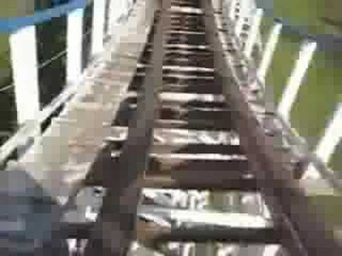 Tornado roller coaster Adventureland Iowa