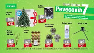 Svaki tjedan Pevecovih 7 - ponuda vrijedi od 17.12. do 23.12.2018.