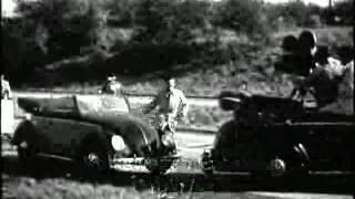 Werbung : VW Käfer Cabriolet - 50er Jahre