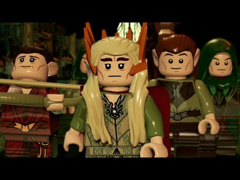 Lego The Hobbit - Dwarf Mine - Part 1