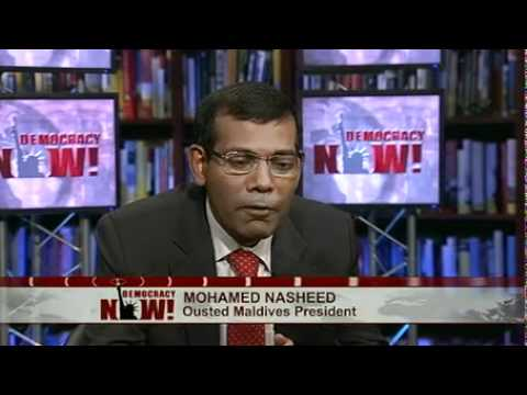 From Political Prisoner to Climate Activist: Ousted Maldives President Mohamed Nasheed
