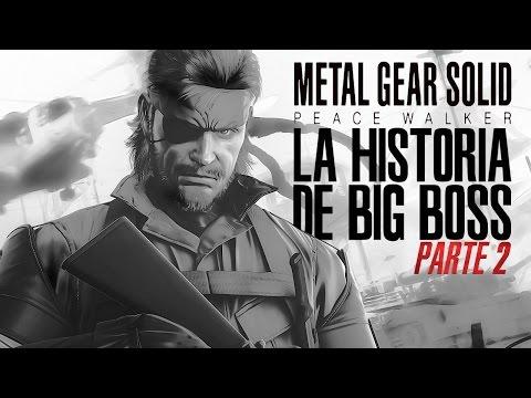La Historia de Big Boss Pt 2 (Portable Ops, Peace Walker, Ground Zeroes)