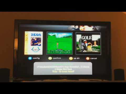 XBMC on Original Xbox running in 720p - Part I (Emulators)