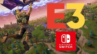 RUMOR: FORTNITE FOR SWITCH COMING AT E3 w/EXCLUSIVE CONTENT?!