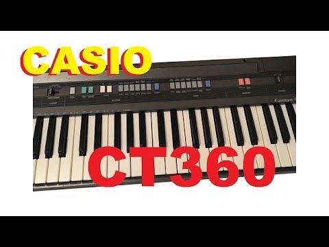 Casio CT-360 Demo/review ...soooo ancient...