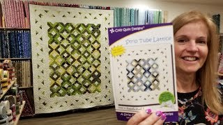Strip Tube Lattice Quilt Tutorial!