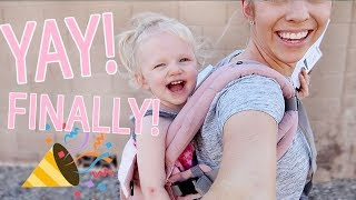 SHE GETS HER CAST OFF TODAY! / Day In The Life of a Toddler Mom