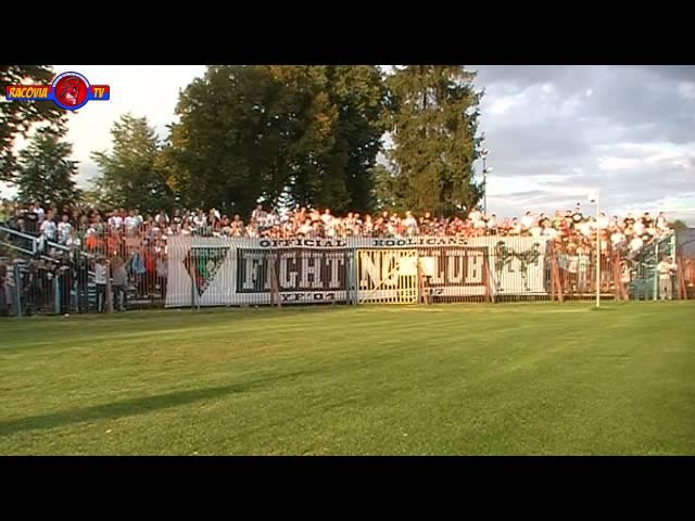[RacoviaTV] RKS Raków Częstochowa 1:1 Zagłębie Sosnowiec - doping kibiców