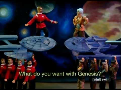star trek wrath of khan opera