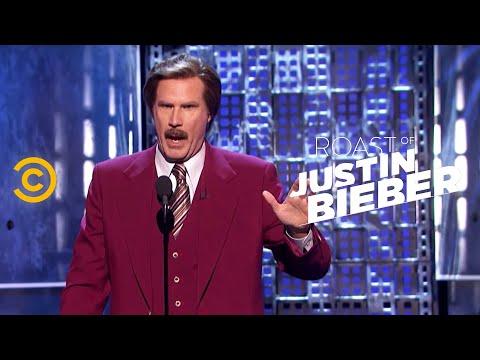 Roast Of Justin Bieber - Ron Burgundy - A Star-studded Evening video