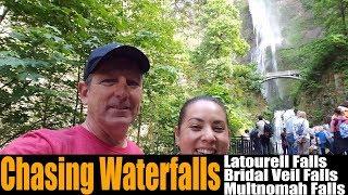 Motorhome RV Living | Chasing Waterfalls Near Portland, Latourell/Bridal Veil/Multnomah