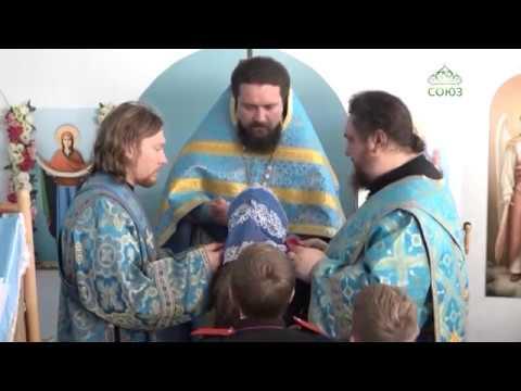 Престольный праздник в храме в честь Покрова Пресвятой Богородицы в посёлке Украинском