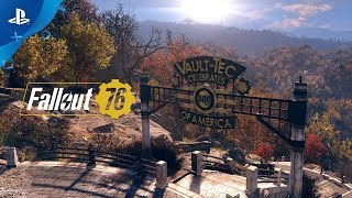 Fallout 76 – Welcome to West Virginia Gameplay Video | PS4