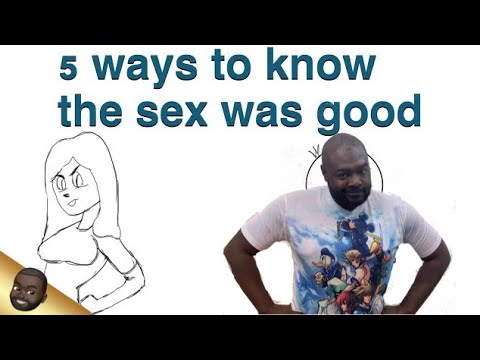 5 Ways To Know Sex Was Good (cartoon) video