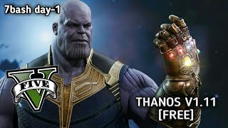HOW TO INSTALL THANOS V1.11 SCRIPT MOD [FREE!] STEP BY STEP GUIDE + GAMEPLAY I GTA V MODS