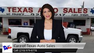 Carz of Texas Auto Sales Review Balcones Heights TX