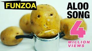 Aloo Song | Potato Song | Funzoa Mimi Teddy | Funny Vegetable Song | Tasty Potatoes Served on Beats
