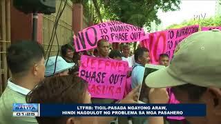 LTFRB: Tigil-pasada ngayong araw, hindi nagdulot ng problema sa mga pasahero