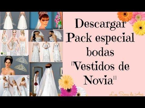 Descargar pack de boda Especial Vestidos de Novia - Los Sims 3