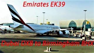 Trip Report| Emirates EK39 Airbus A380 Dubai DXB to Birmingham BHX, September 2018